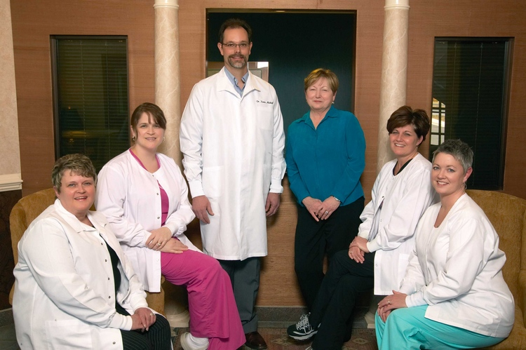 Dr. Midkiff and Staff